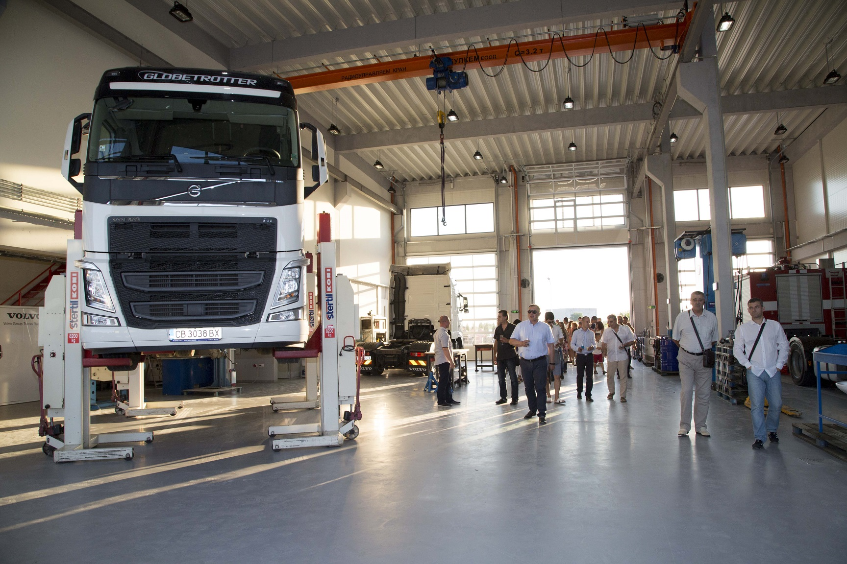 Volvo Group Bulgaria to invest 1.5 mln euro in new service centre
