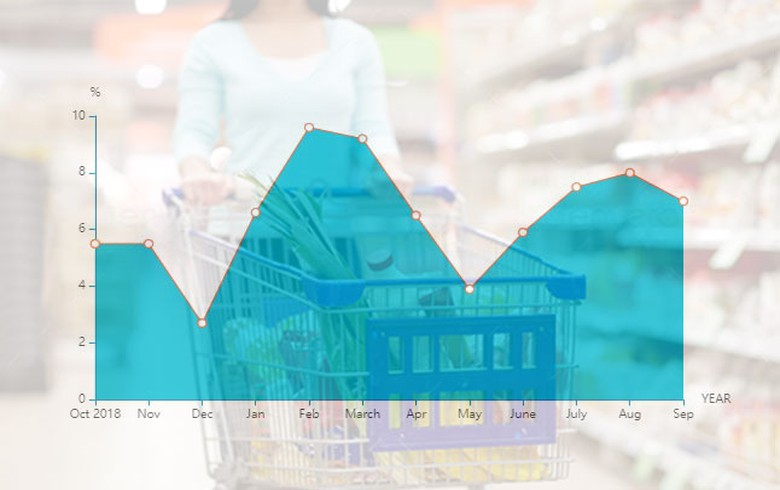 Romania's Jan-Sept retail trade turnover up 7.1% y/y - table