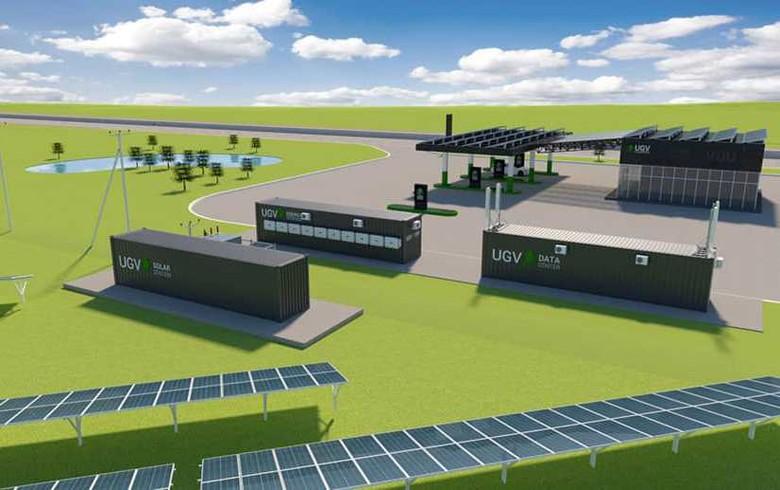 Energy accumulation and storage system UGV Storage by INFOCOM LTD company