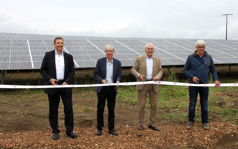 IBC Solar opens 10-MW section of solar park in Germany