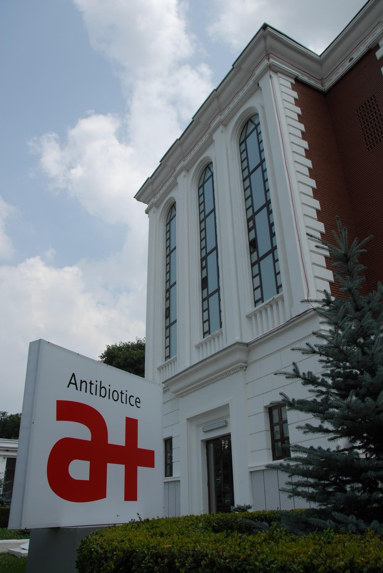 Romanian drug maker Antibiotice's H1 net profit grows