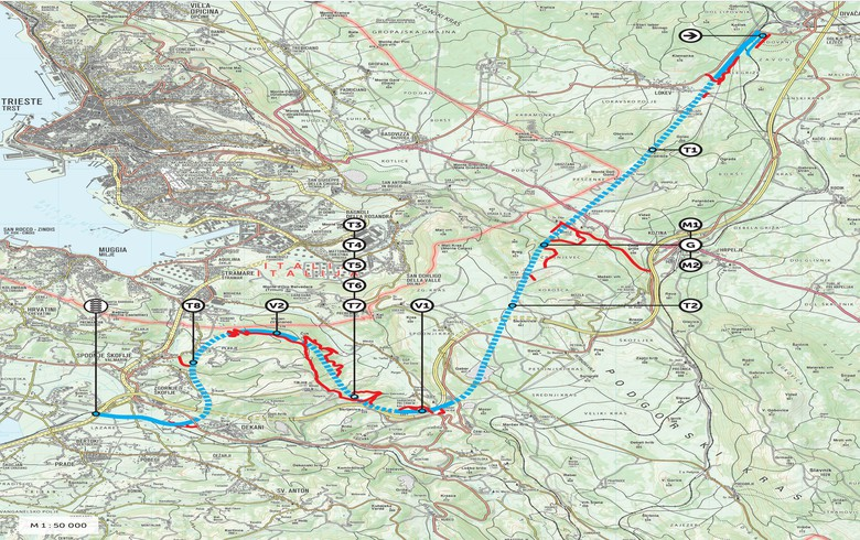 Slovenia hires local consortium for 8.5 mln euro preparatory works on Divaca-Koper railway project