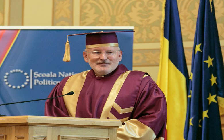 EC to act if Romania fails to get judicial reform back on track - Timmermans