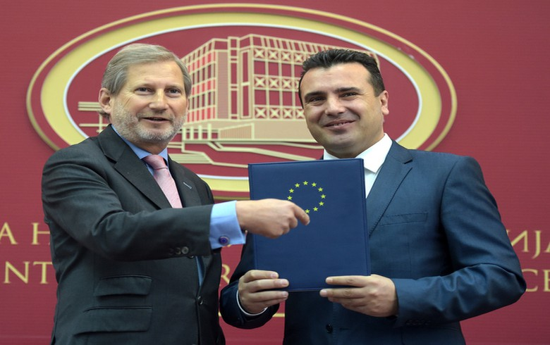 EU starts Macedonia screening process