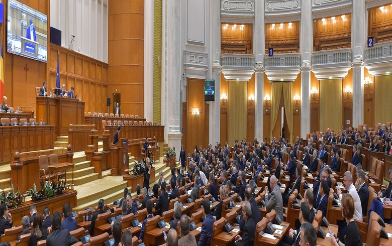 Romania's ruling coalition files censure motion against govt