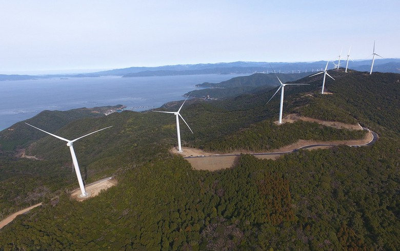 Sumitomo Electric to equip 122-MW wind farm in Japan