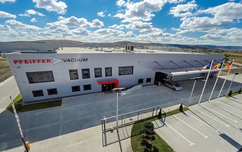 Pfeiffer Vacuum opens new high-tech production site in Romania