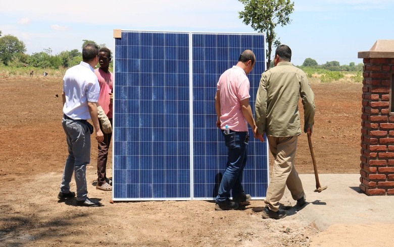 Construction begins at 60-MW solar project in Malawi