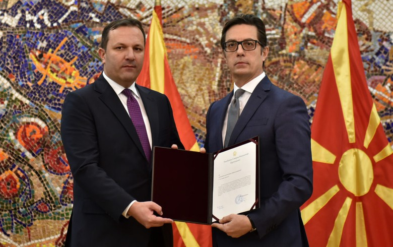 UPDATE 1 - N. Macedonia's president hands Spasovski mandate to form caretaker govt