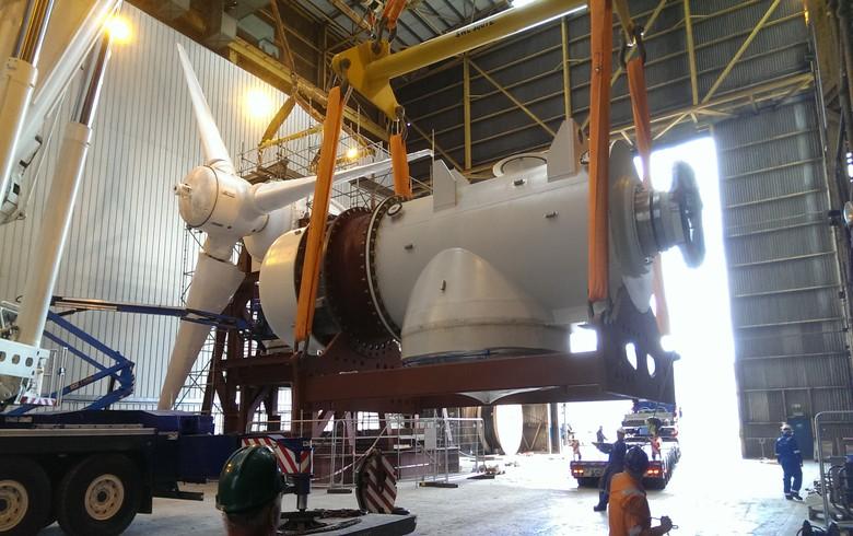 MeyGen turbines to go through scheduled onshore inspection