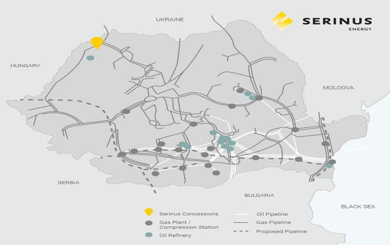 Serinus Energy spuds Moftinu-1004 well in Romania