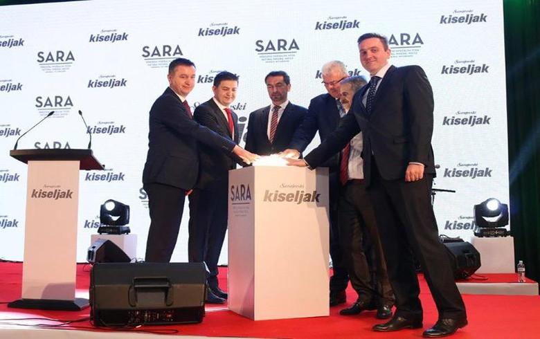 Bosnia's Sarajevski Kiseljak opens 10 mln euro factory in Kresevo