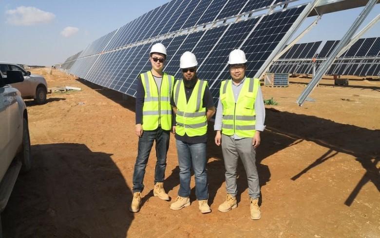 Jolywood provides panels for 105-MW N-bifacial solar park in Oman