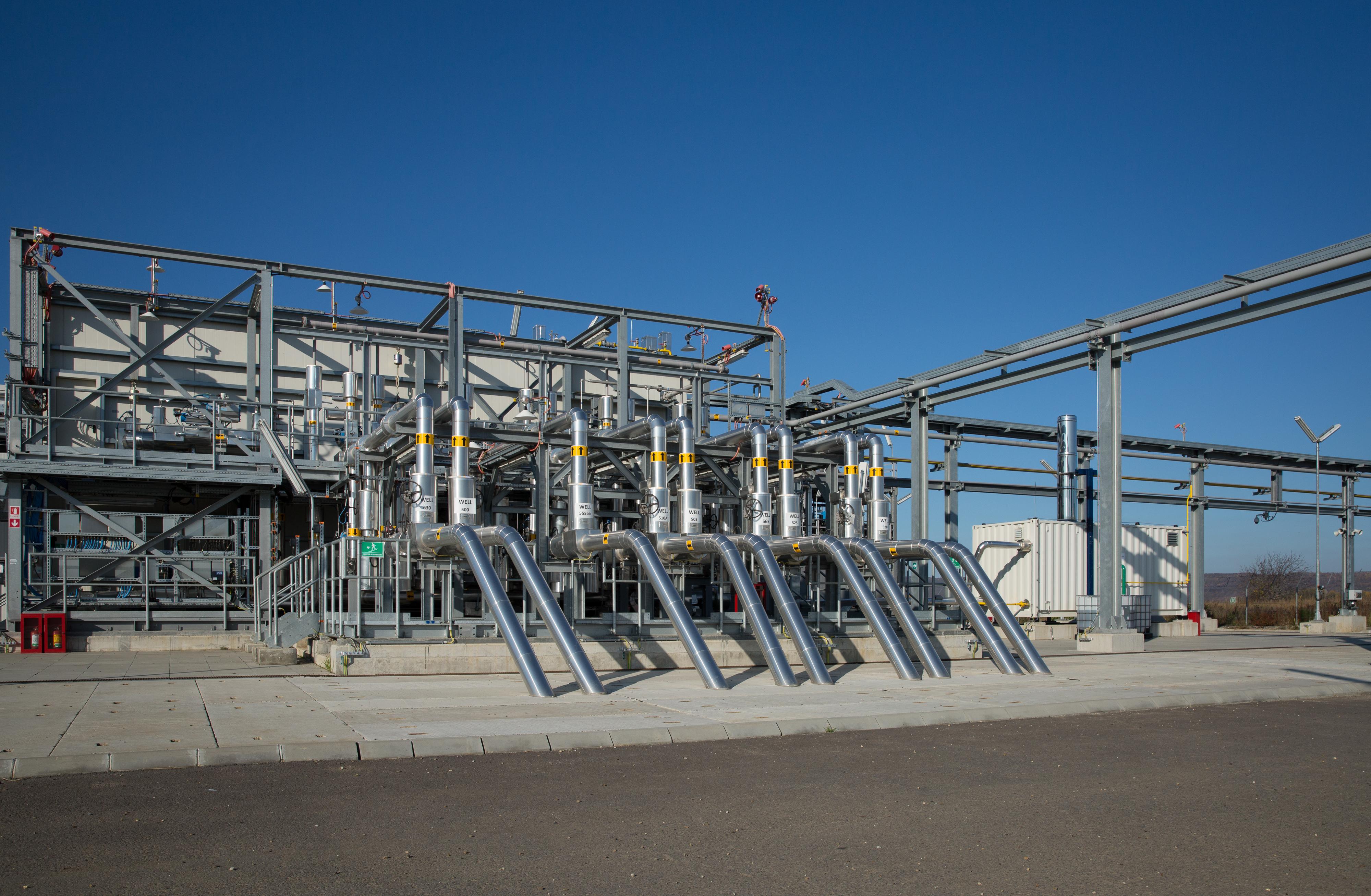 Romania's OMV Petrom completes two gas treatment plants