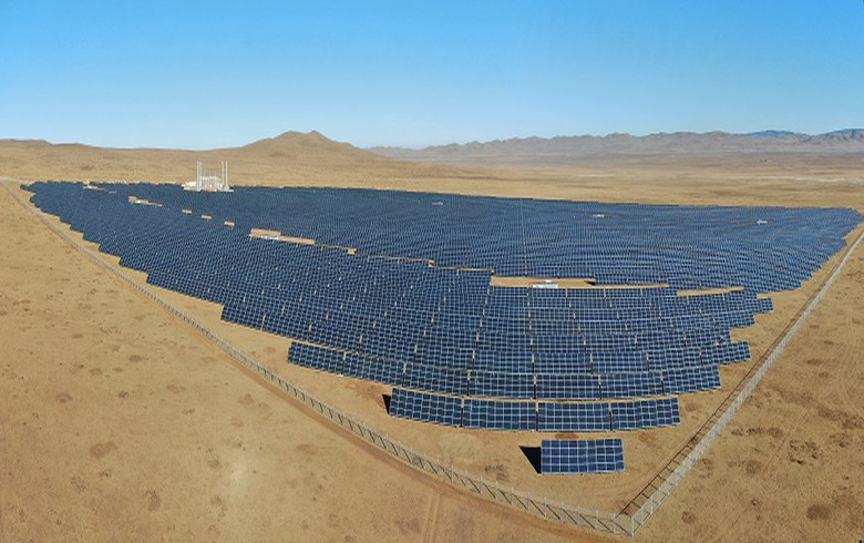 Sharp completes 16.4-MW solar power plant in Mongolia