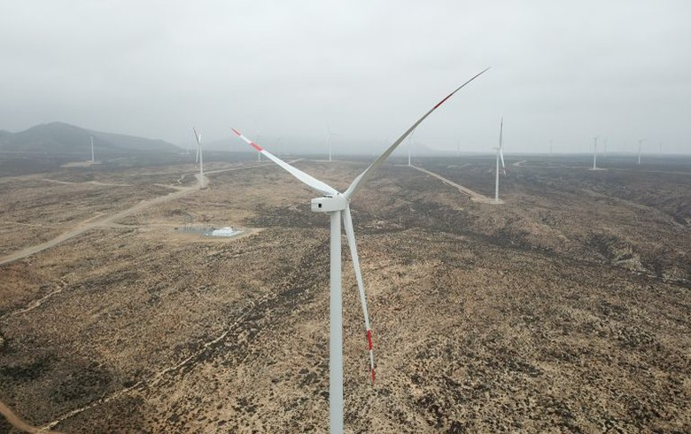 Mainstream completes transmission line for 170-MW wind project in Chile