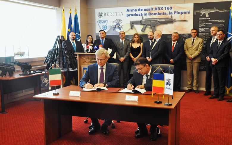 Romania's UMP to set up JV with Italy's Beretta