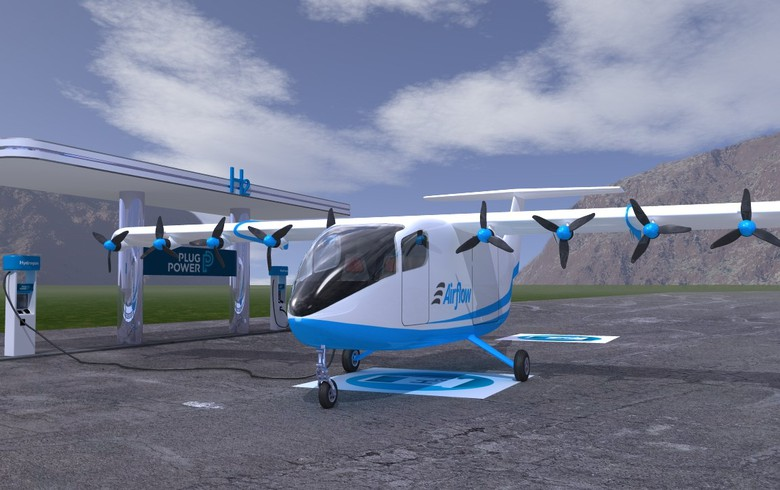 Plug Power, Airflow to develop aircraft propulsion system