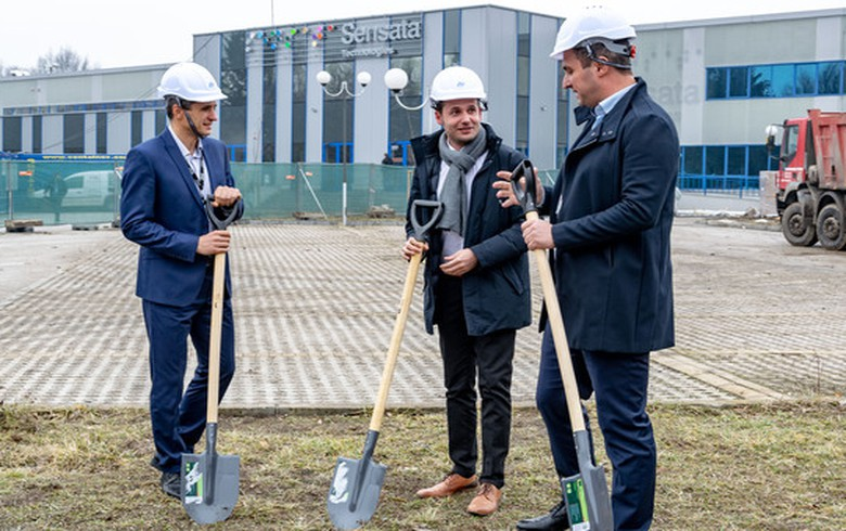 Sensata Technologies Bulgaria breaks ground for $27 mln plant