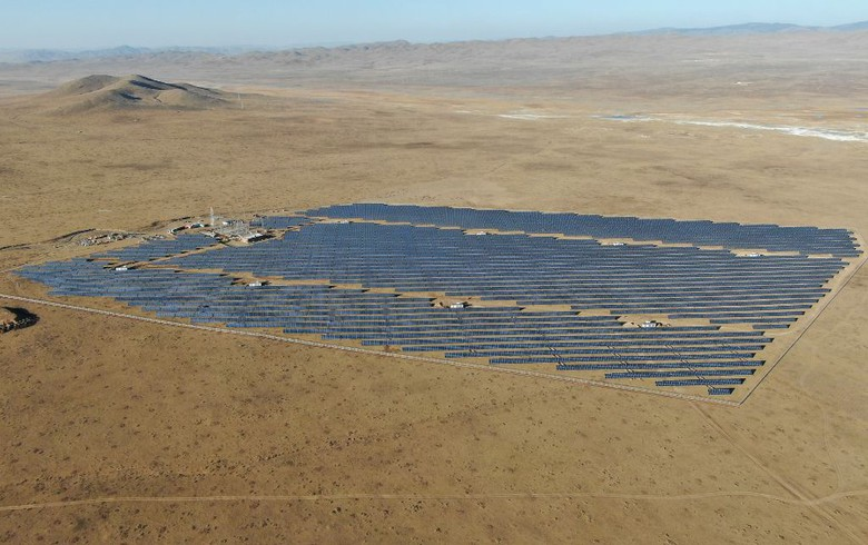 UPDATE - Sermsang Power commissions Mongolian solar park