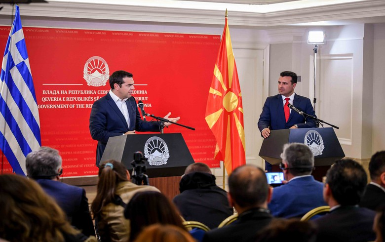 N. Macedonia, Greece agree to step up ties in economy, transport, defence