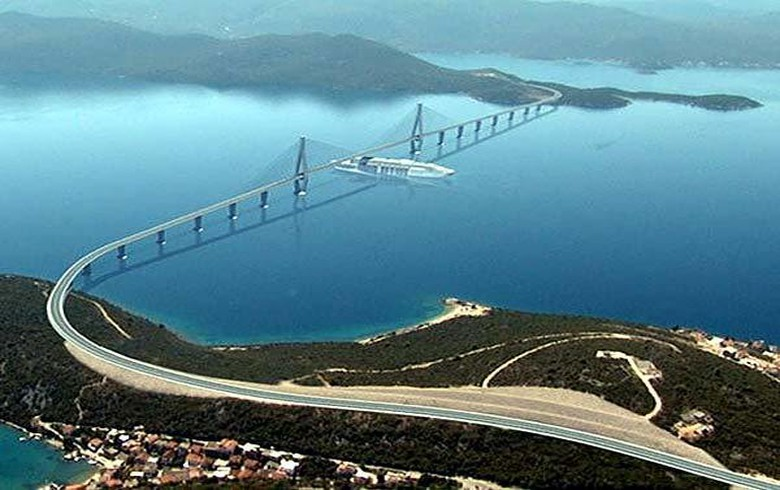 Strabag starts building access road to Croatia's Peljesac bridge - report