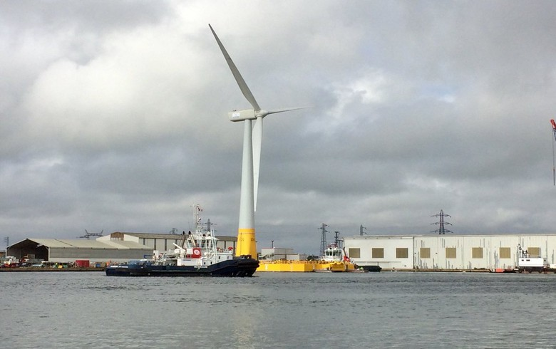 France inaugurates Floatgen floating wind demo