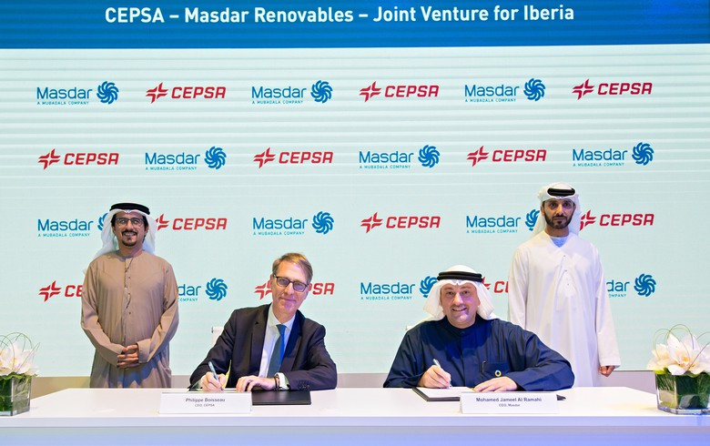 Masdar, Cepsa form Iberian JV to develop 500 MW-600 MW of renewables