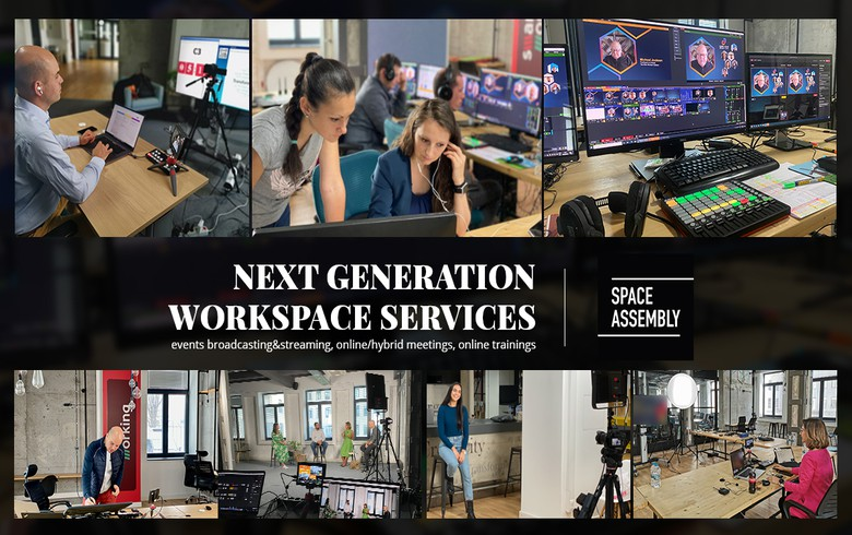 The first high-tech shared working space was officially founded