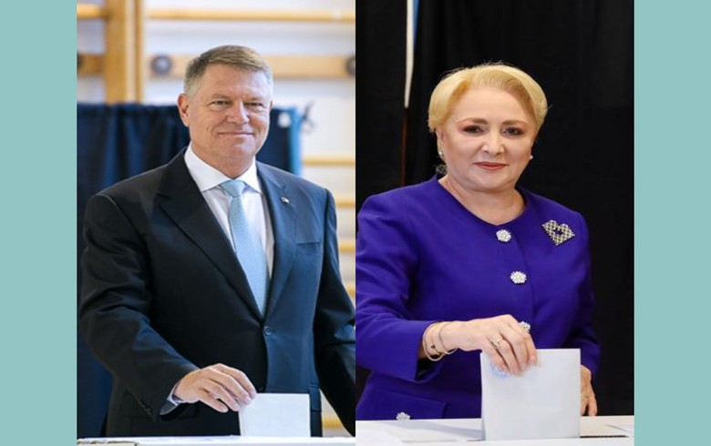 Romania's incumbent head of state Iohannis to face ex-PM Dancila in run-off vote for president – partial results