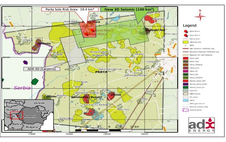 ADX Energy在罗马尼亚探索Parta探索许可证的18-Mo延伸