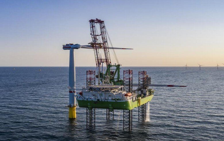Belgium's 487-MW SeaMade offshore wind complex gets inaugurated