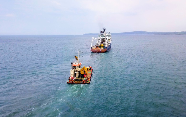 Minesto wraps up 2nd offshore installation phase at Holyhead Deep