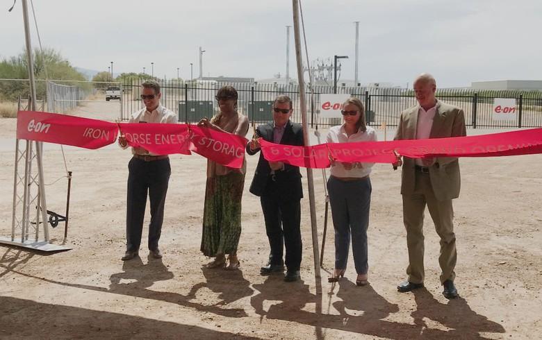 E.on opens 10-MW storage project in Arizona