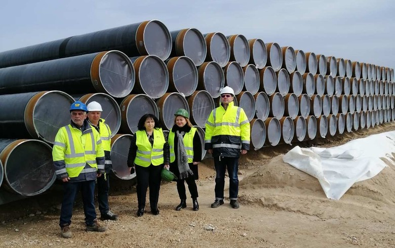 Greece's Corinth produces 62km of line pipes for Greece-Bulgaria gas link