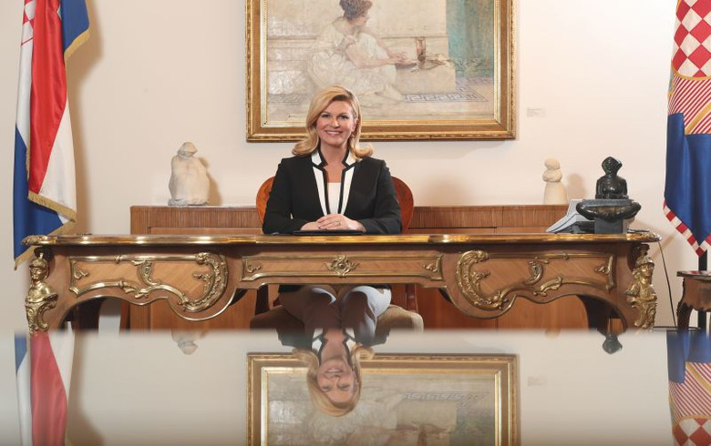 Croatian president Grabar-Kitarovic to run for second term in office