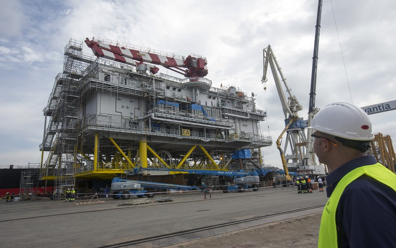 Navantia hands over East Anglia One substation to Iberdrola