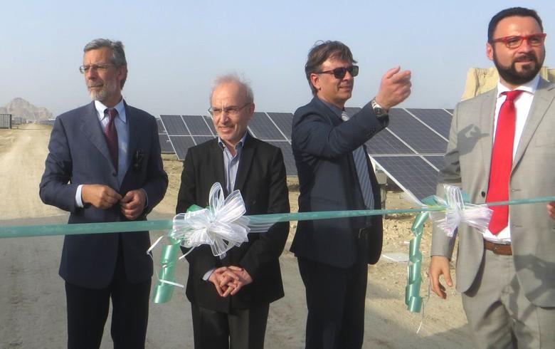 Carlo Maresca switches on 10-MW solar park in Iran