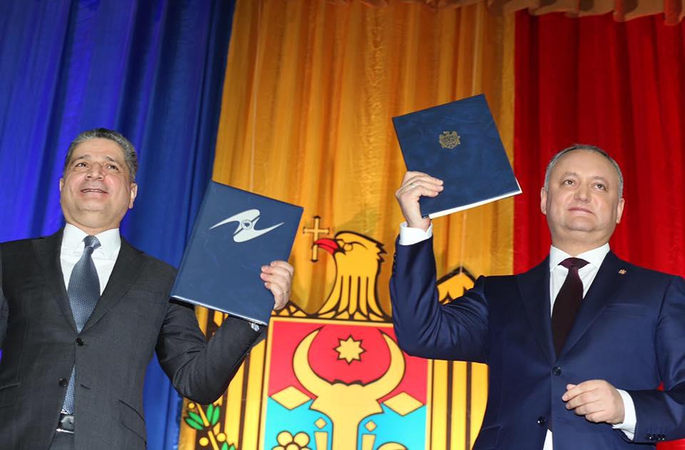 Moldova's president signs Eurasian Economic Union cooperation memorandum