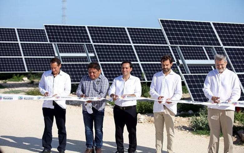 Mexico's Yucatan state inaugurates 18-MW PV plant