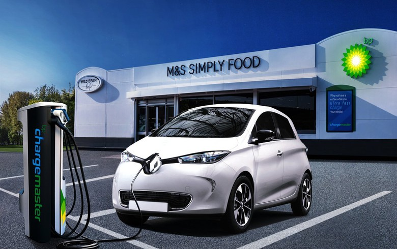 BP to buy UK EV charging firm Chargemaster
