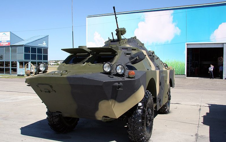Serbia to receive 10 BRDM-2 combat vehicles from Russia for free - president Vucic
