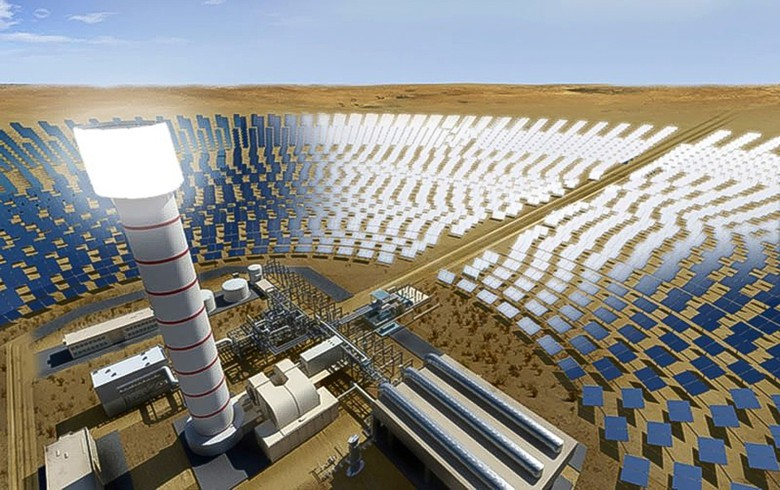 Construction launched on 700-MW CSP complex in Dubai
