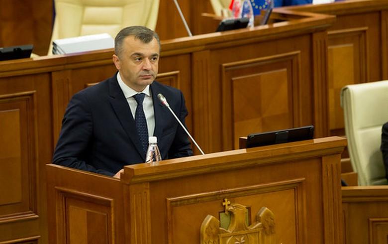 Moldova's parl votes into office new coalition govt