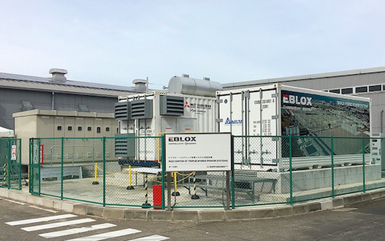 Mitsubishi Heavy installs demo of newly-developed hybrid power system