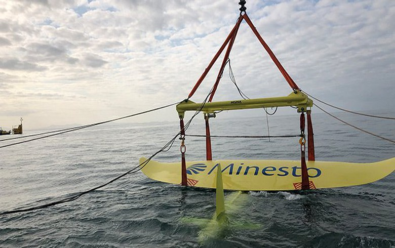 Minesto finalises offshore test programme of Welsh tidal energy project