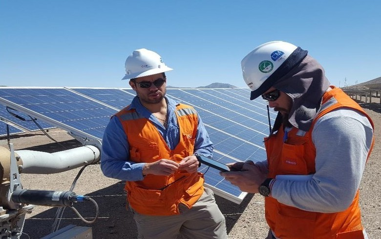 EDF RS starts servicing 146-MW solar park in Chile