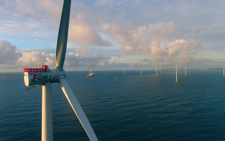 Taiwan's Formosa I Phase II offshore wind park produces 1st power