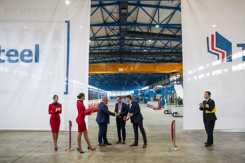 UPDATE 1 - Romania's Teraplast opens TeraSteel factory in Serbia