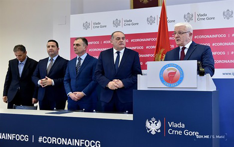 Montenegro reports first two coronavirus cases